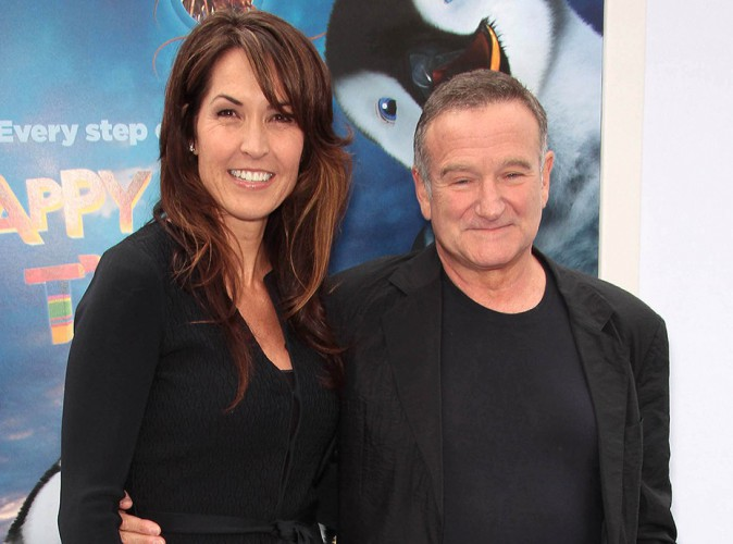 Robin Williams : après son terrible suicide, sa femme sort du silence...