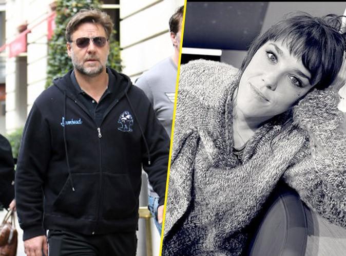 Russell Crowe : sous le charme de la chanteuse Zaz !