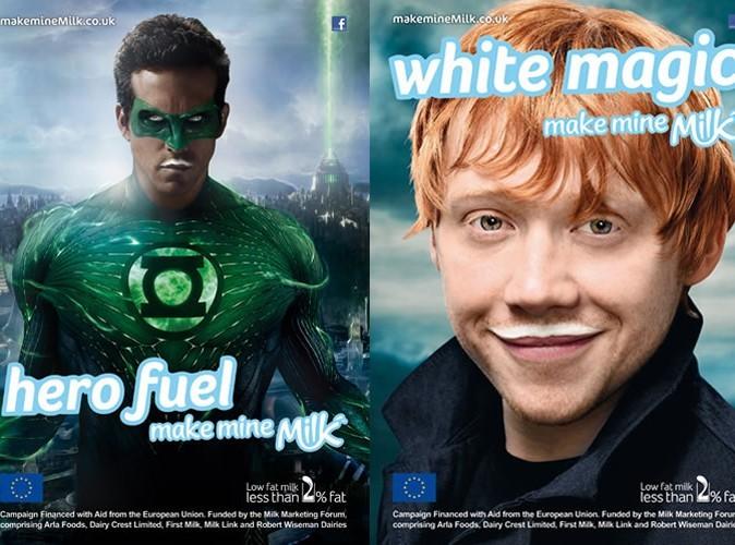 Ryan Reynolds super héros ambassadeur des produits laitiers !