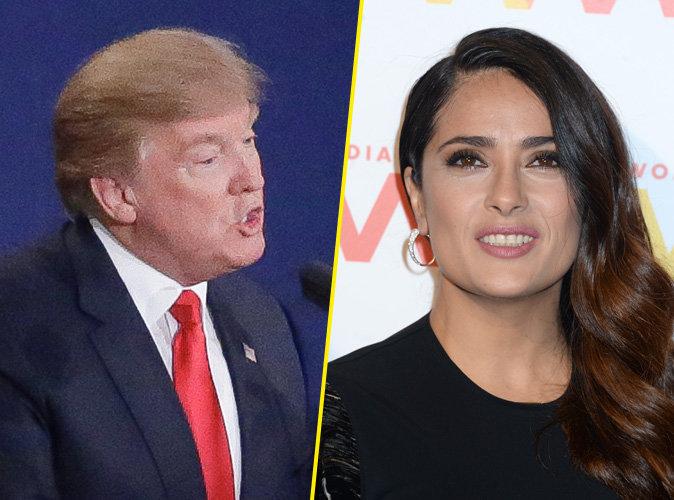 Salma Hayek : Sa folle histoire avec Donald Trump