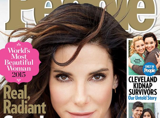 Sandra Bullock : la femme la plus belle du monde, c'est elle !