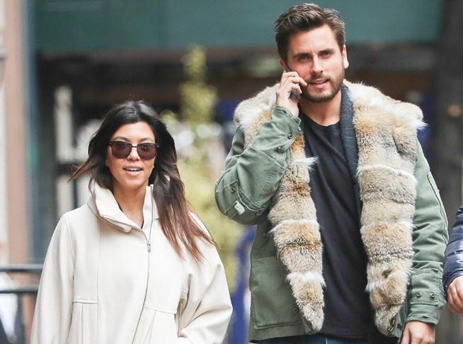 Scott Disick : il a pu compter sur le soutien de Kourtney Kardashian et de Kris Jenner à l'enterrement de son père...