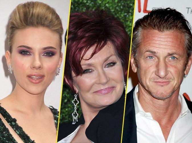 Sean Penn et Scarlett Johansson ont une dent contre Sharon Osbourne !