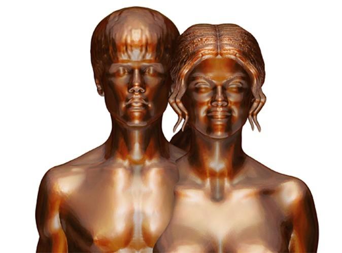 Selena Gomez et Justin Bieber : un artiste les représente nus et fusionnels !