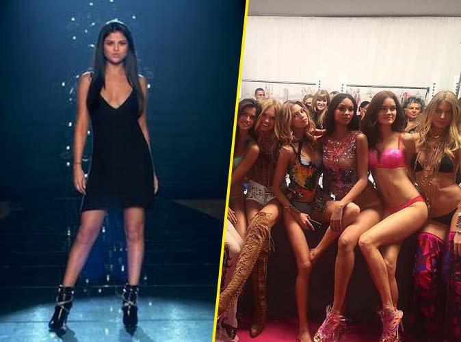 Selena Gomez fait le show avec les Anges Victoria's Secret pour leur lip sync !