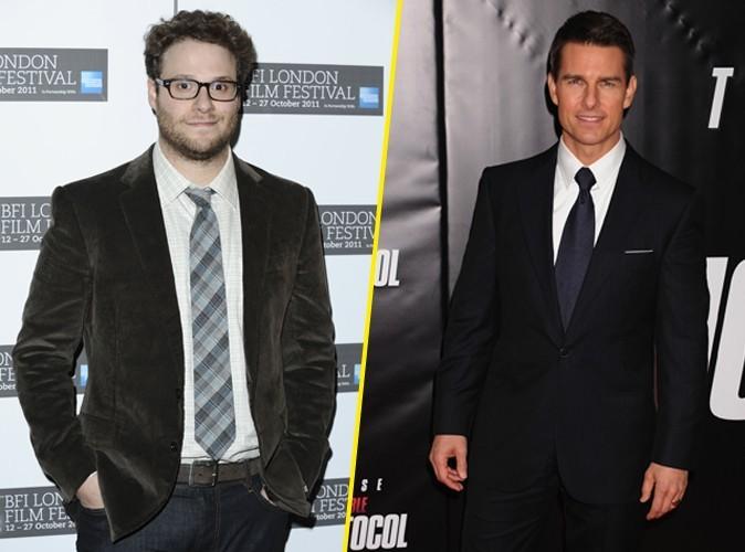 """Seth Rogen : """"J'ai déjà fait pipi dans l'allée de Tom Cruise !"""""""