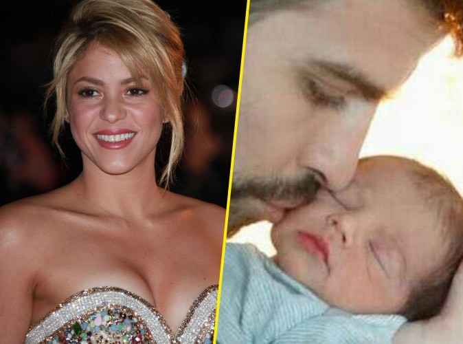 Shakira : découvrez la première photo de son adorable petit Milan !
