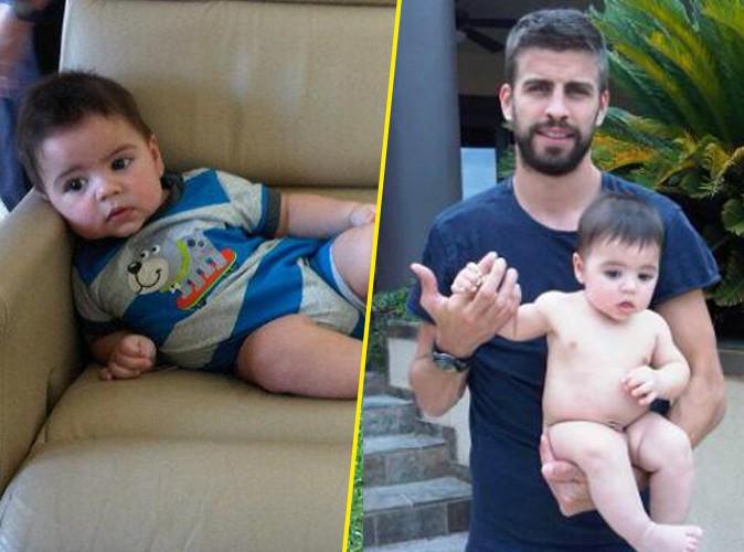 Shakira : en vacances avec papa Piqué et le bébé !