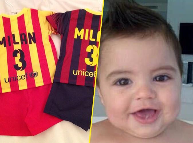 Shakira et Gerard Piqué : Milan a déjà son propre maillot de foot, il devient supporter du Barça !