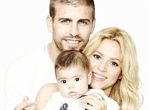 Shakira : folle des deux hommes de sa vie, Milan et Gérard !