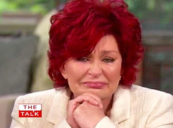 Sharon Osbourne : elle craque à la télé US en parlant de la maladie de son fils !