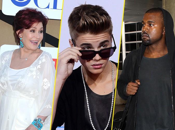 Sharon Osbourne : elle tacle sévèrement Justin Bieber et Kanye West !