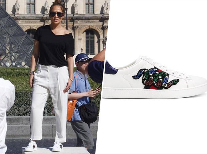 Shopping : Copie Conforme : les sneakers Gucci de Jennifer Lopez