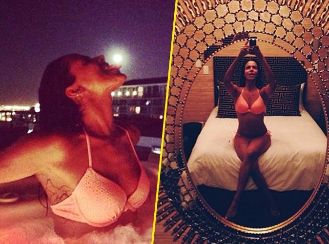 Shy'm : dans son lit ou dans son jacuzzi, elle s'affiche ultra-sexy en bikini !