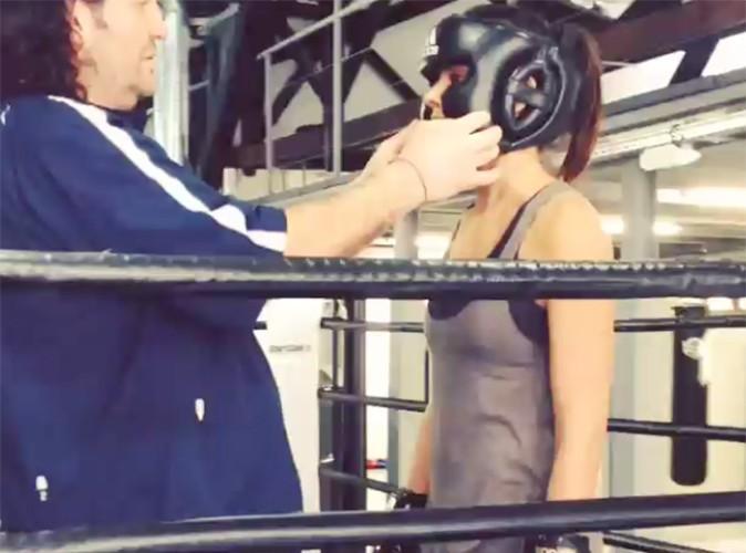 Shy'm : elle monte sur le ring !