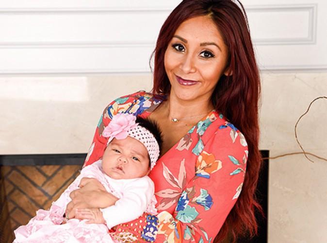 Snooki : elle nous présente enfin sa petite Giovanna Marie !