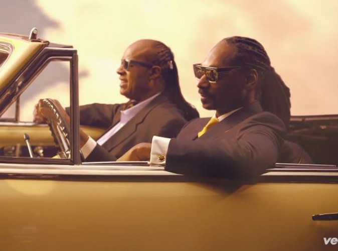 Snoop Dogg : en featuring avec Pharrell Williams et Stevie Wonder pour son nouveau clip déjanté !