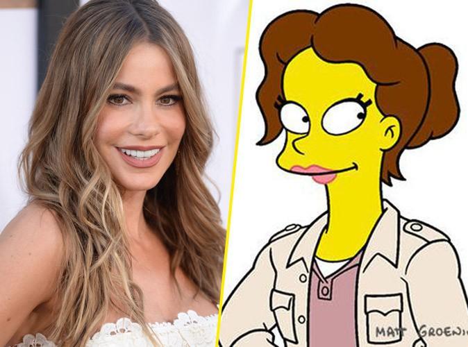 Sofia Vergara sera la nouvelle prof sexy de Bart Simpson !