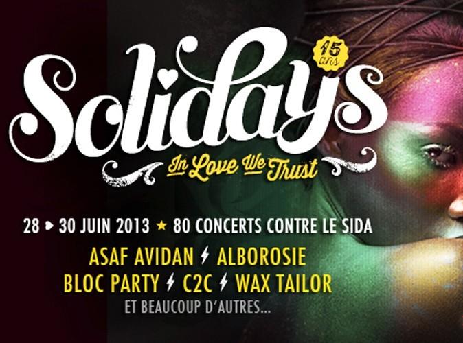 Solidays 2013 : Les 5 premiers artistes annoncés !