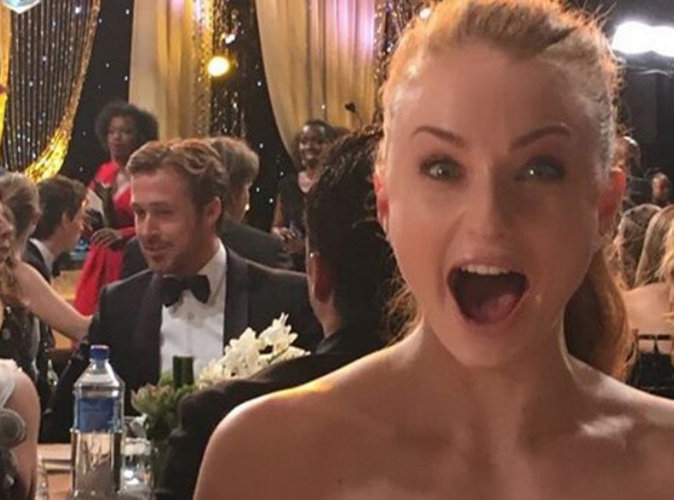 Sophie Turner (Game of Thrones) est raide dingue de Ryan Gosling !