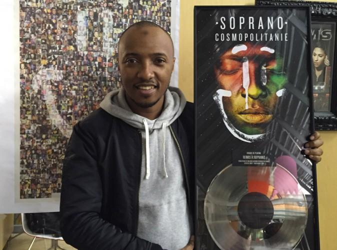 "Soprano : ""Cosmopolitanie"" est disque de platine !"