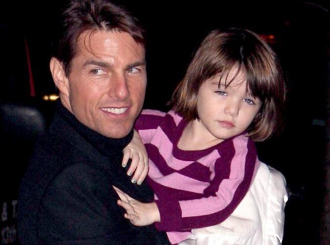 Suri Cruise : actrice à 5 ans avec Papa ?