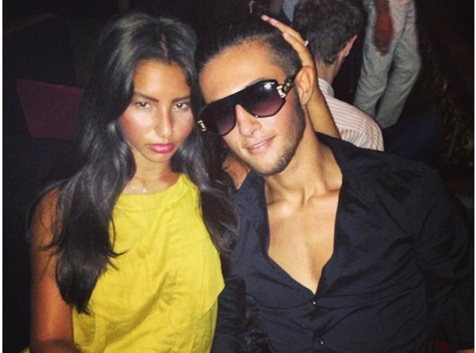 Tarek Benattia : si fier de poser aux côtés de sa belle !