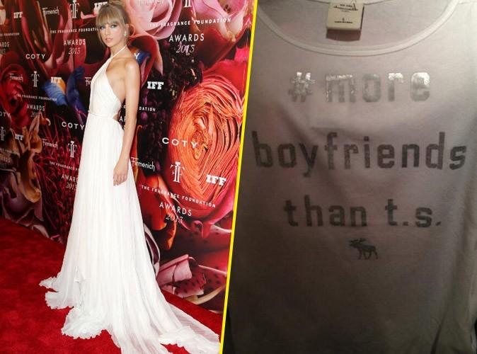 Taylor Swift : ses fans en guerre contre Abercrombie & Fitch !