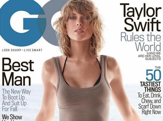 Taylor Swift : sexy girl pour sa première couverture de GQ !