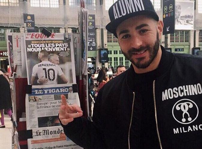 Tout sourire, Karim Benzema provoque la colère du web !