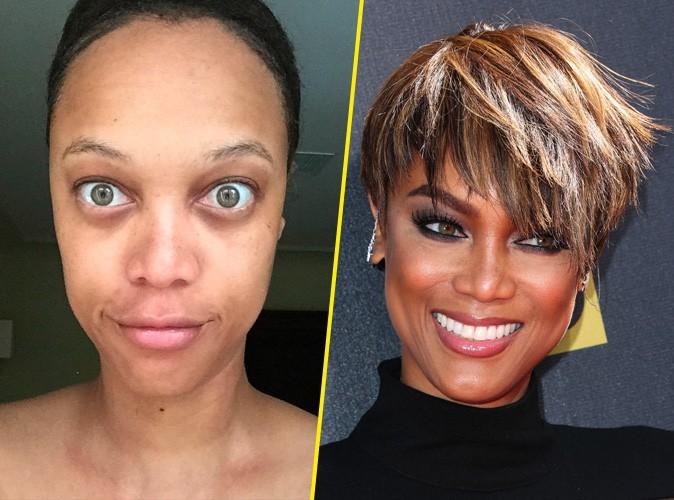 Tyra Banks : elle a osé le selfie sans maquillage !