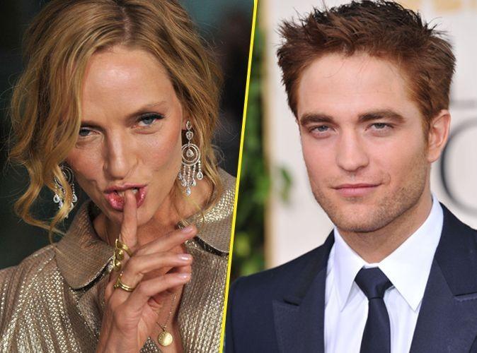 Uma Thurman : encore une qui a craqué pour Robert Pattinson !