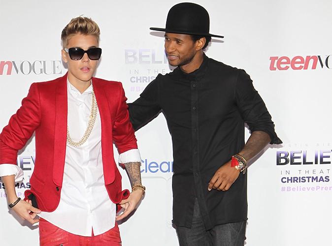 """Usher : il prend la défense de Justin Bieber et assure qu'il n'est """"pas raciste"""" !"""