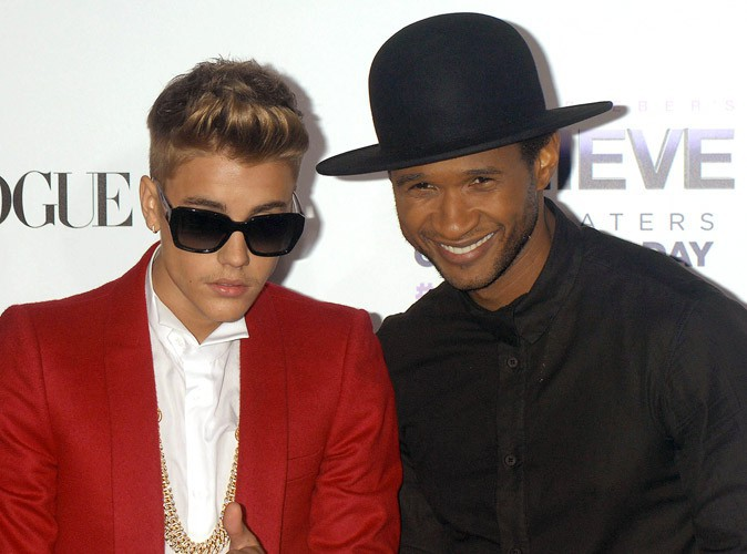 """Usher : le mentor de Justin Bieber est déçu : """"Je déteste ce que j'entends"""" !"""