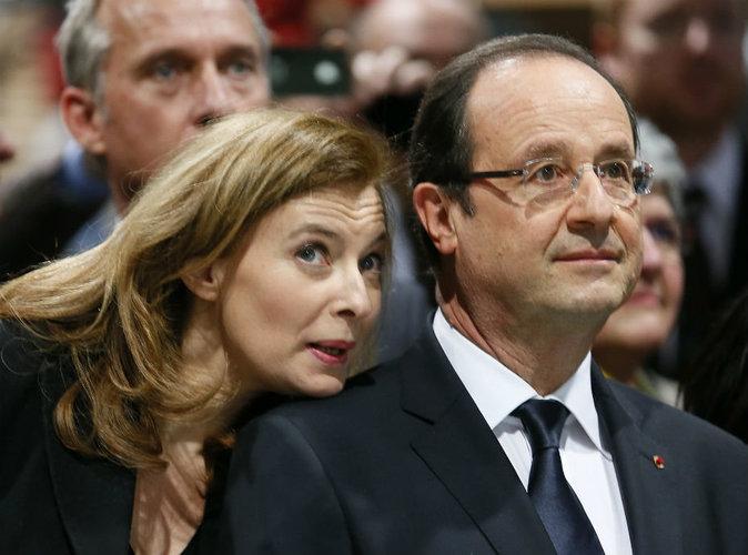 Valérie Trierweiler : avec François Hollande