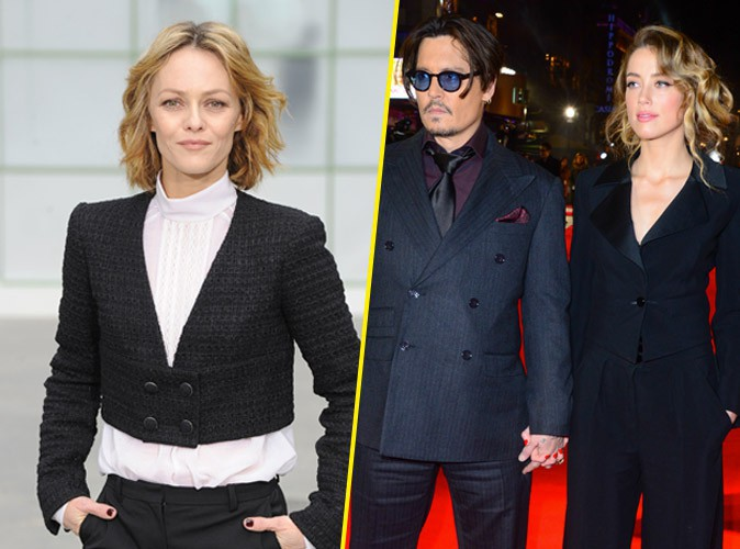 vanessa paradis son cadeau de mariage bizarre pour johnny depp et amber heard. Black Bedroom Furniture Sets. Home Design Ideas