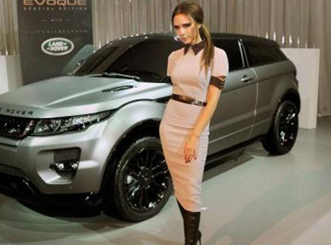 Victoria Beckham : au sommet du chic à Pékin, elle dévoile la Range Rover qu'elle a créée !