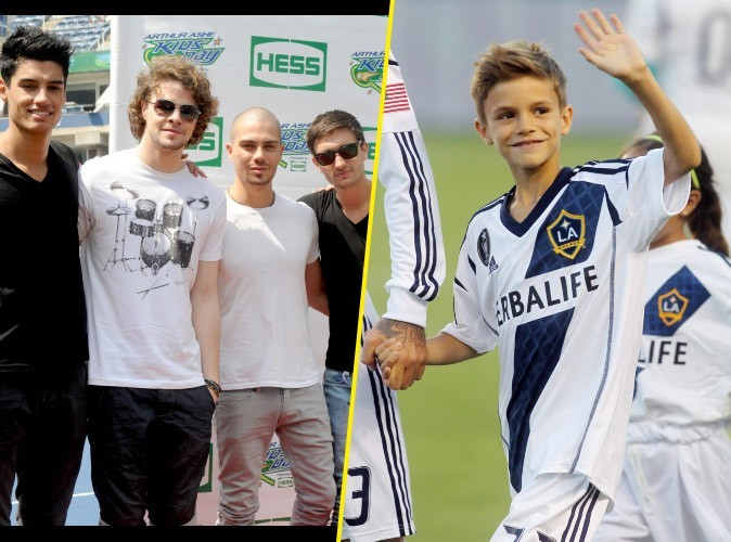 Victoria Beckham : elle remercie The Wanted pour l'anniversaire de son fils Romeo !