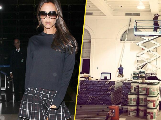 Victoria Beckham : elle se prépare pour la Fashion Week !