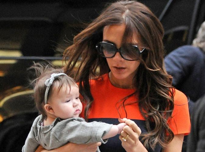 Victoria Beckham : en pleine préparation du baptême et du premier anniversaire de sa fille Harper !