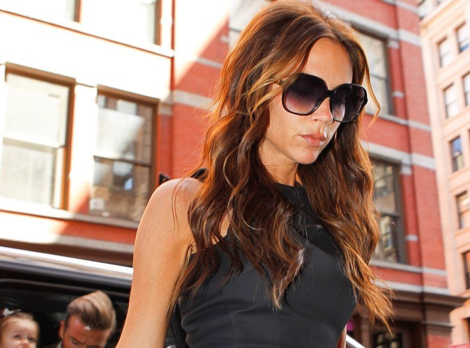 Victoria Beckham : pour une fois, elle ne porte pas de talons !