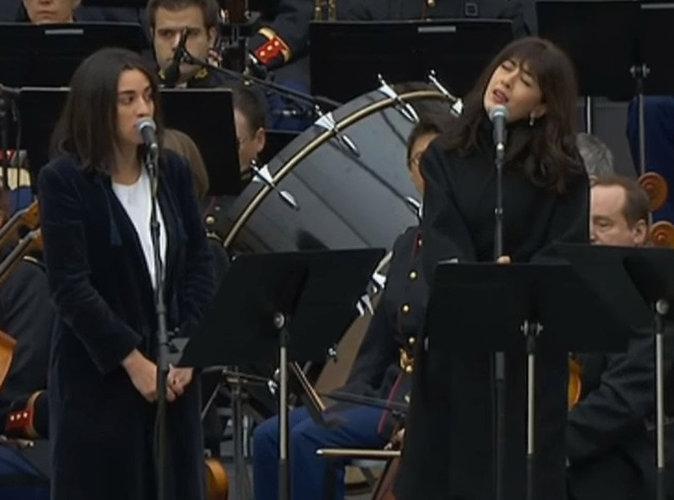 Cam�lia Jordana, Nolwenn Leroy et Ya�l Na�m rendent un poignant hommage aux victimes des attentats