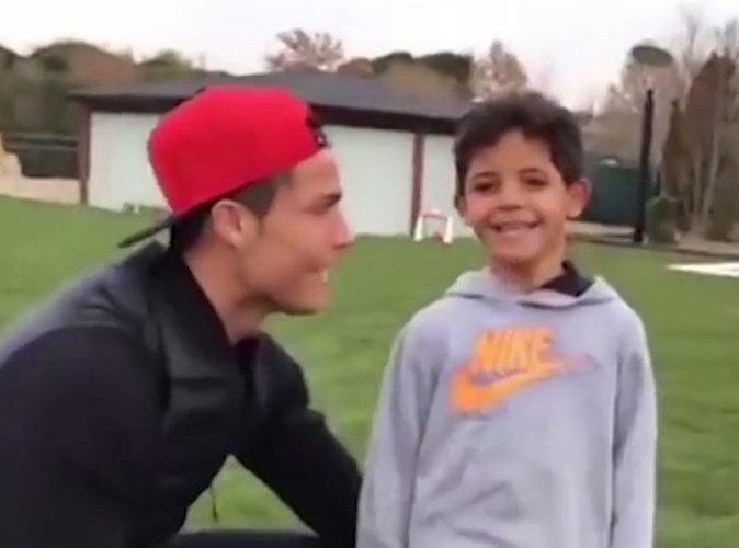 Vidéo : Cristiano Ronaldo complice comme jamais avec son fils