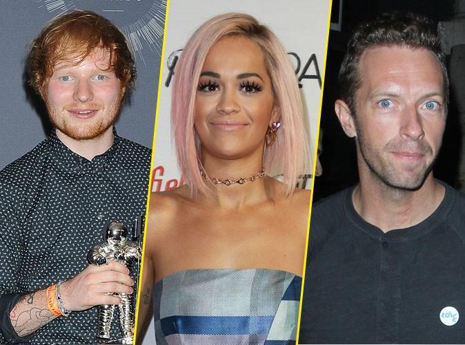 Vidéo : Ed Sheeran, Rita Ora, Chris Martin… Ils chantent tous contre Ebola !