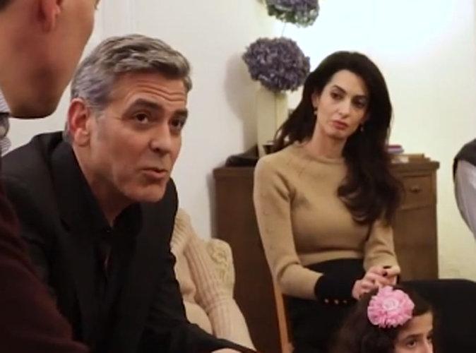 George et Amal Clooney : ils sont les réfugiés syriens d'hier !