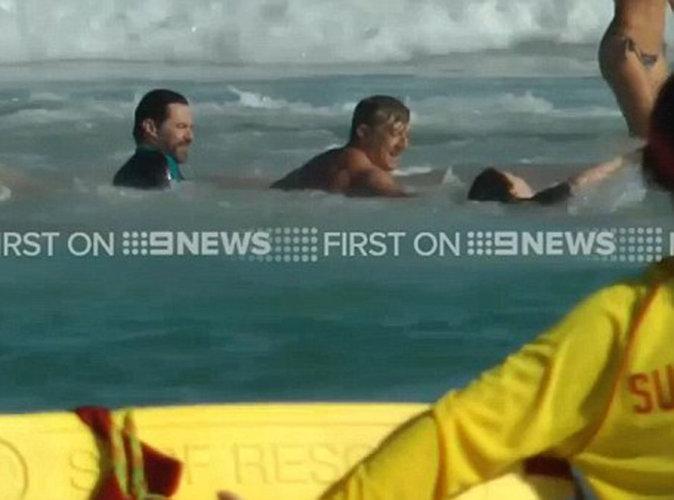 Vidéo : Hugh Jackman : panique à la plage, son fils a bien failli se noyer...
