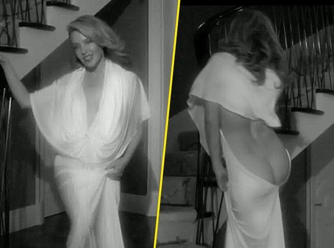 Vidéo : Kylie Minogue : fière de son postérieur... Elle l'exhibe sans complexe !