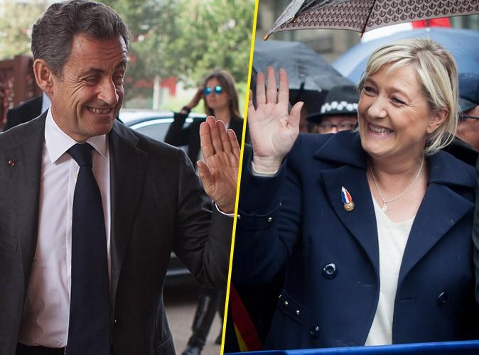 Vidéo : Le suprenant hommage de Marine Le Pen à Nicolas Sarkozy