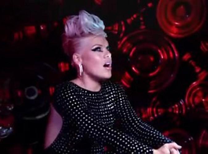 Vidéo : Pink : découvrez la rock & glam' dans le teaser de son prochain clip !