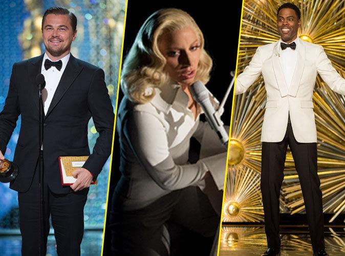 Vidéos : Leonardo DiCaprio, Lady Gaga, Chris Rock… revivez les temps forts des Oscars 2016 !